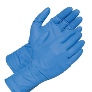 Γάντια βινύλιου μπλε